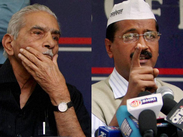 Shanti Bhushan hits out at Kejriwal