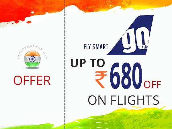 Goair discount coupons