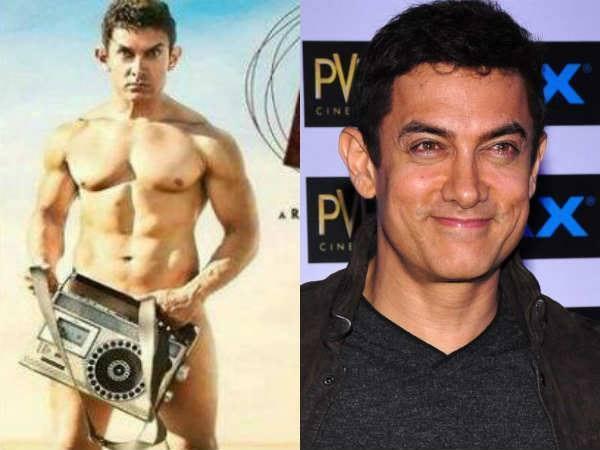 Aamir Khan's nude PK poster