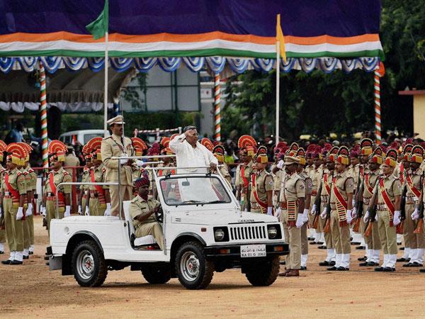 Karnataka celebrates Independence Day