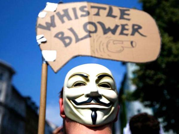 Whistle Blowers Protection Act should be enacted soon.