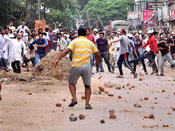 Saharanpur violence(PTI Image)