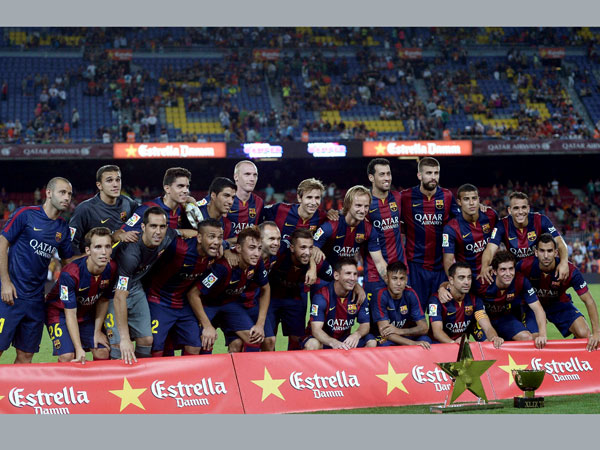Barcelona defeats Leon in friendly match