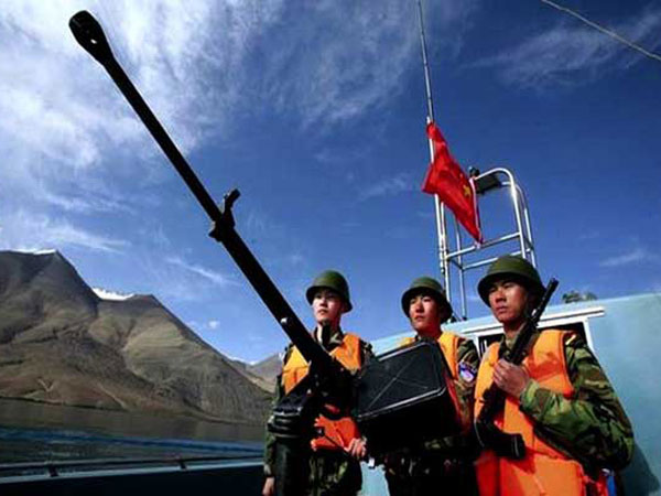 Chinese Troops now claim Ladakh