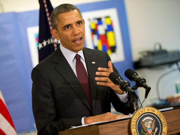 Obama hails recapturing of Iraq's dam