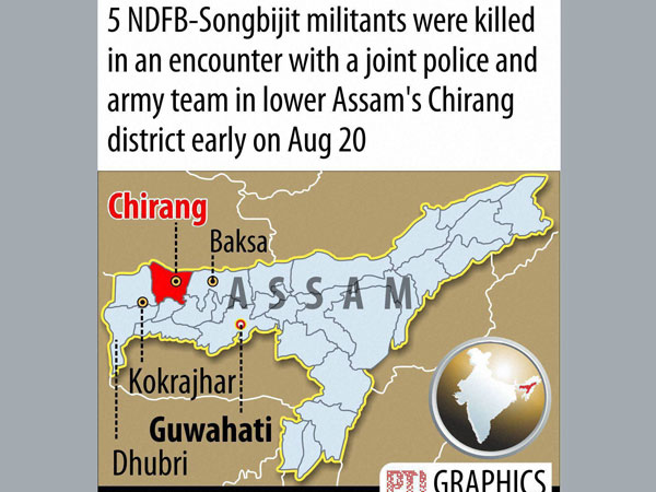 5 NDFB-S militants killed in encounter