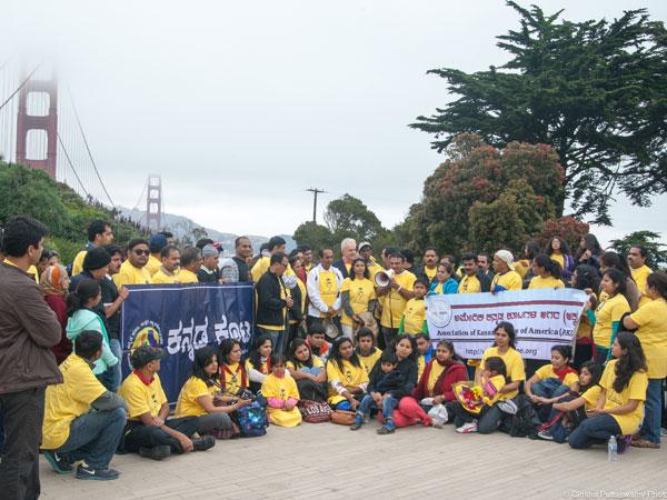 AKKA Walk on Golden Gate Bridge