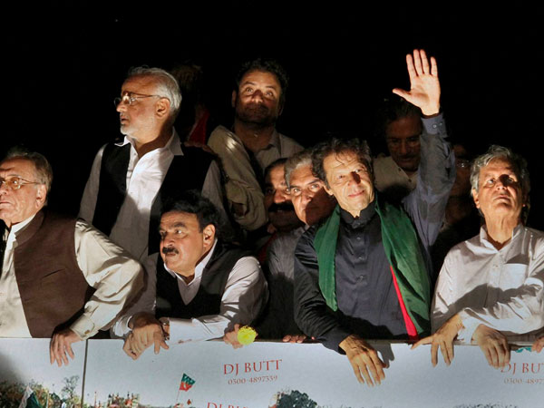 Imran Khan questioned by party members