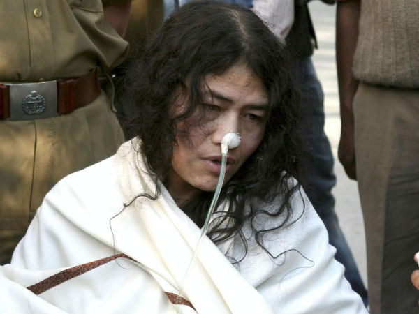 Irom Sharmila will continue her fast against Armed Forces Act
