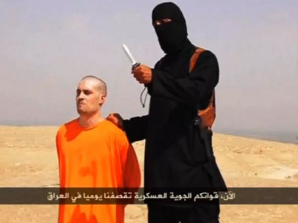 ISIS beheads an American journalist