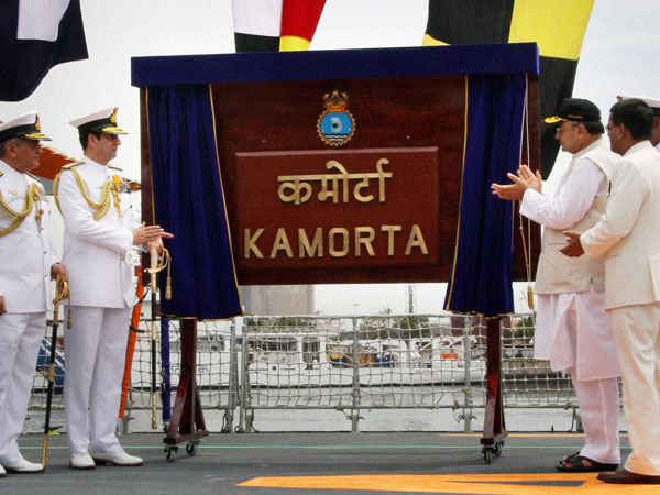 INS Kamorta commissioned by Jaitley