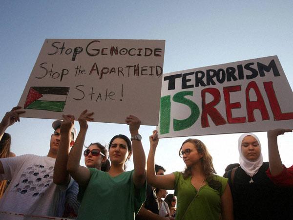 Gaza: Israel destroys residential tower