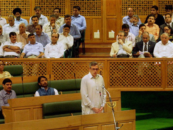 Chaos in Jammu and Kashmir Assembly