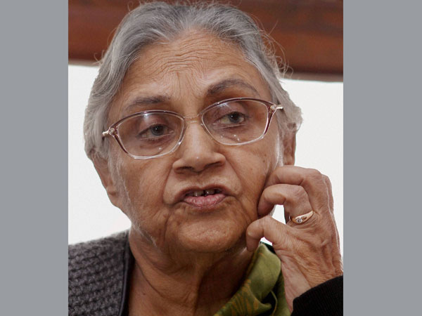 Sheila Dikshit meets president