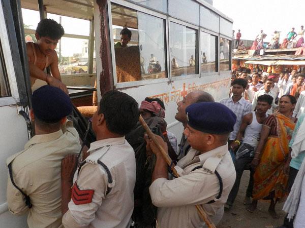 10 killed in stampede in MP