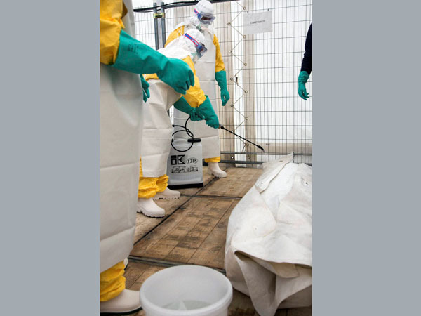 Brussles prepares itself for Ebola