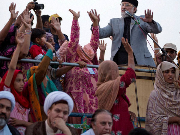 Qadri refuses to budge