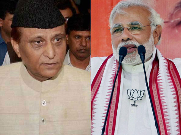 Azam Khan and Modi