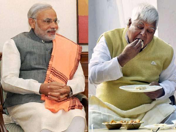 Modi and Lalu