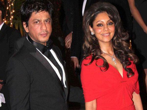 Shahrukh Khan and his wife Gouri
