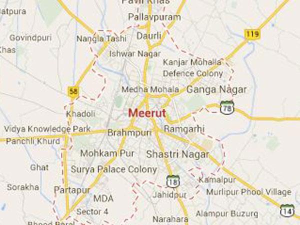 Police on alert in Meerut
