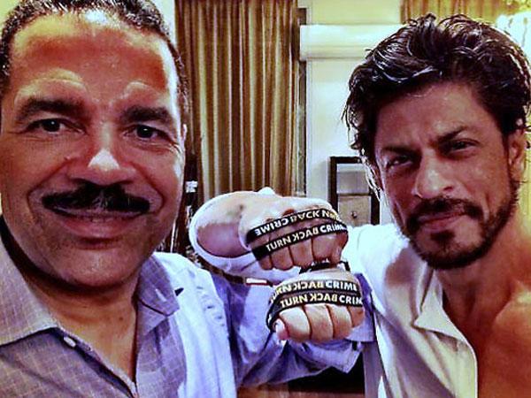 SRK joins 'Turn Back Crime' campaign