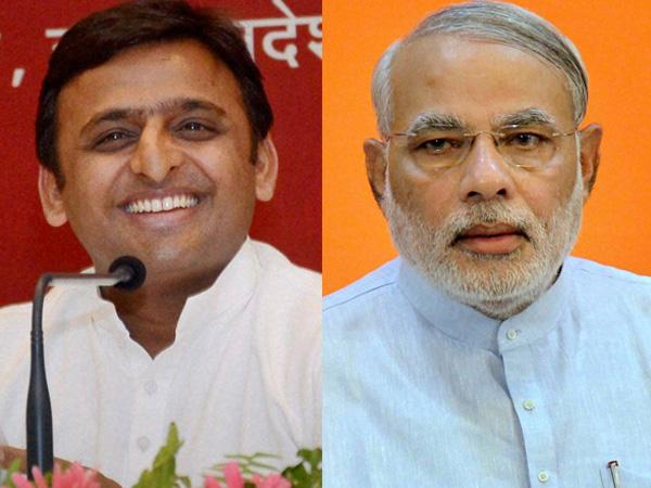 Akhilesh and Modi