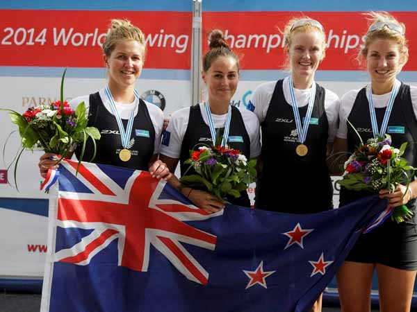 New Zealand wins rowing competition