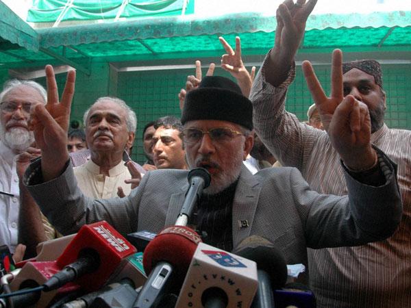 Arrest warrant against Pak leader Qadri