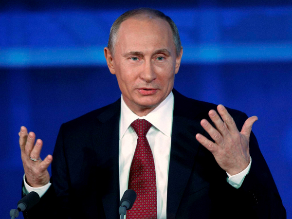 Putin: Can conquer Liev in a fortnight