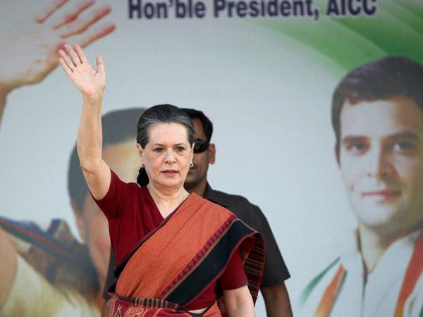 Sonia Gandhi meets people in Rae Bareli