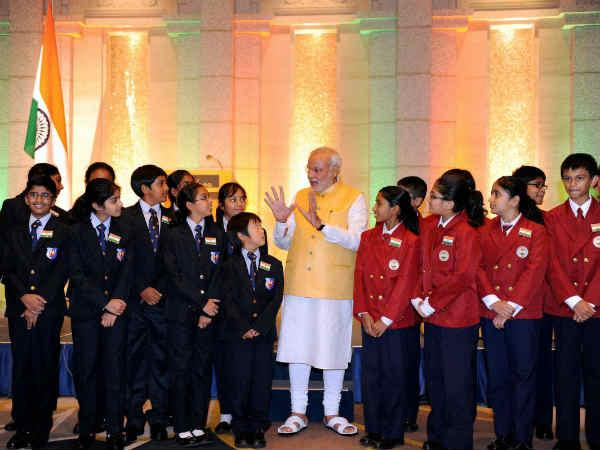Students' date with Prime Minister