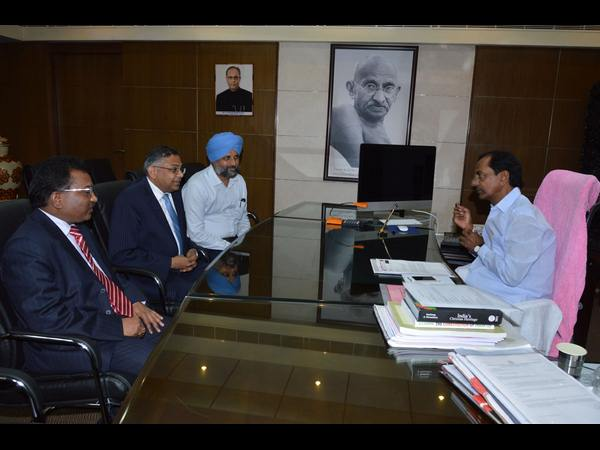 When KCR met TCS CEO