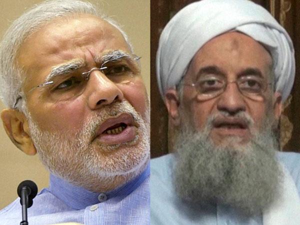 al-Qaeda leader and Modi