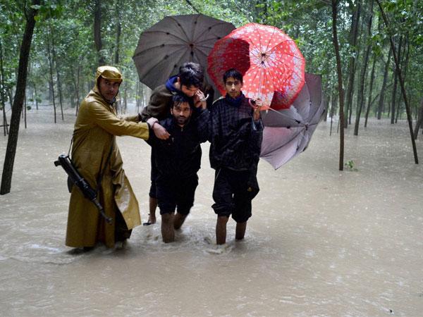 jammu and kashmir, srinagar, flood, school, narendra modi, teacher's day