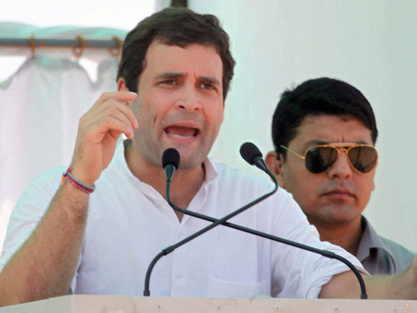 Rahul attacks UP govt education system