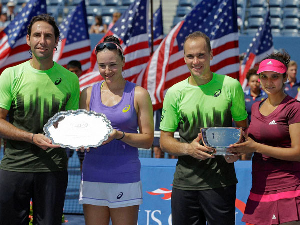 Sania wins mixed doubles at US Open