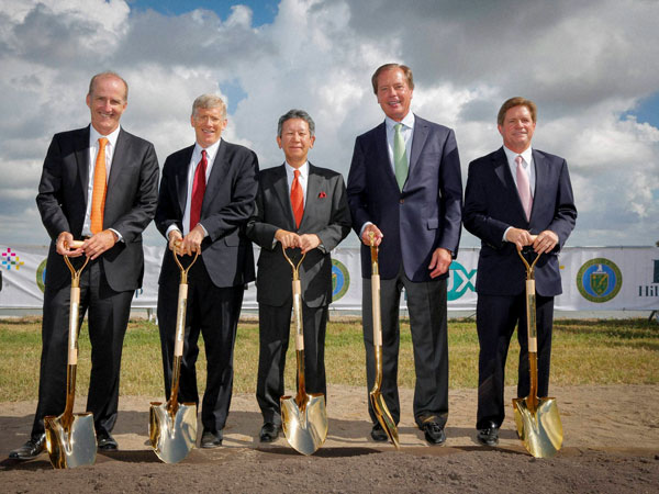 Groundbreaking Event at the W. A. Parish power plant