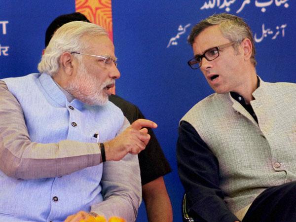 Modi and Omar Abdullah