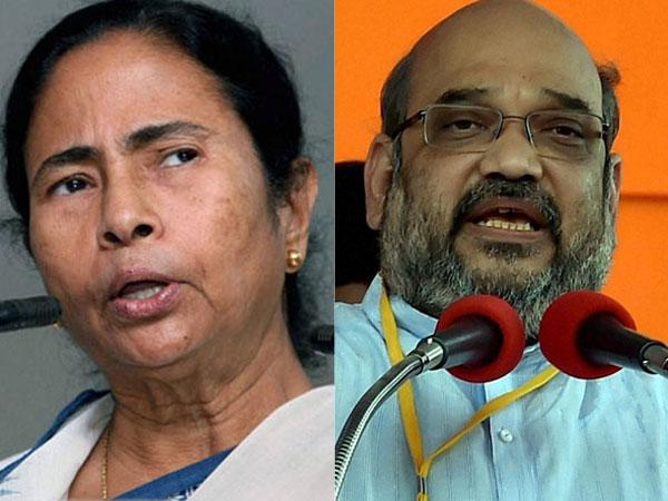 Amit Shah vs Mamata