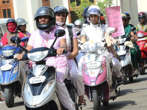 Helmet mandatory for women two-wheeler riders in Delhi from today; Sikhs exempted