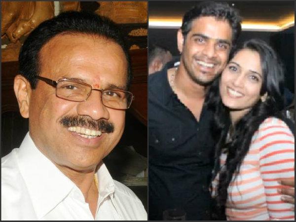 Sadananda Gowda and son's love affair