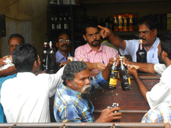 Liquor shop in Kerala