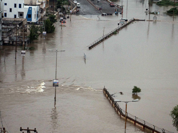 More than 12,000 relocated as flood hits Vadodara city