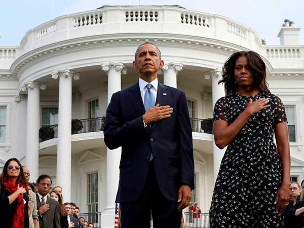 9/11 attack:Barack Obama adresses people