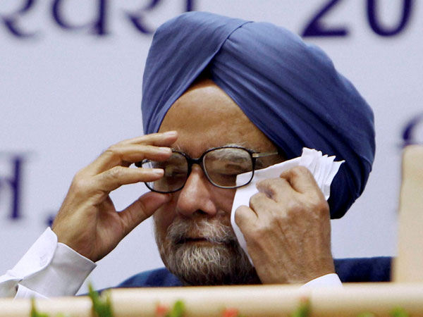 Book reveal the helpless Manmohan Singh