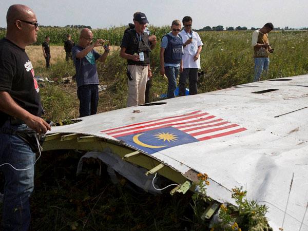 MH 17 crash site