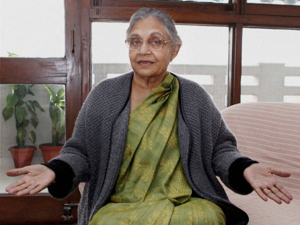 Shiela Dikshit kicks off yet another controversy in Delhi