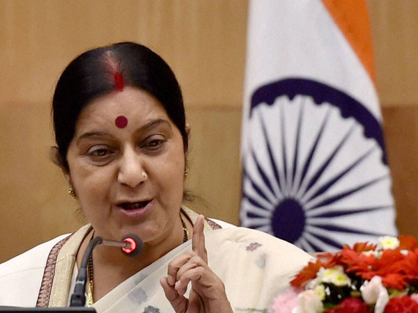 Sushma Swaraj meets Russian counterpart