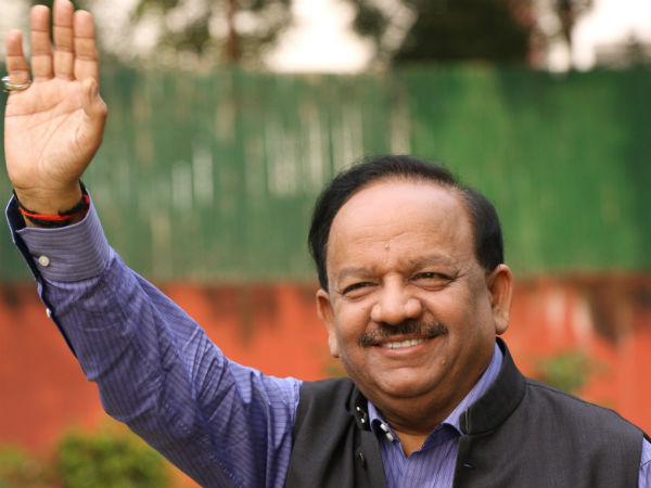 Health Minister Harsh Vardhan in J&K